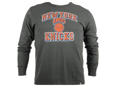New York Knicks NBA Men's Flanker Long Sleeve T-Shirt