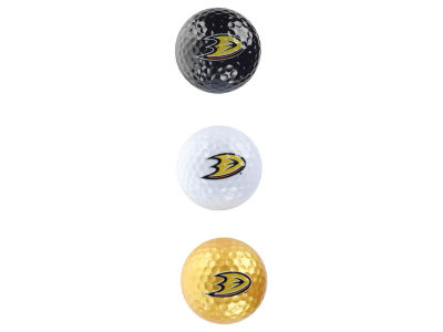 Anaheim Ducks 3-pack Golf Ball Set