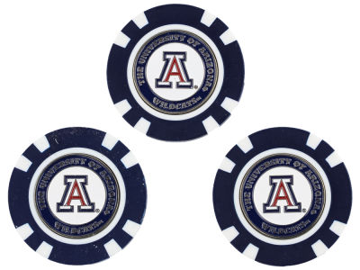 Arizona Wildcats Golf Poker Chip Markers 3 Pack