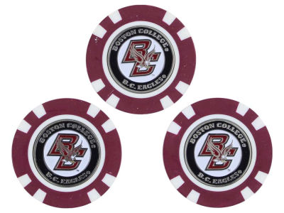 Boston College Eagles Team Golf Golf Poker Chip Markers 3 Pack