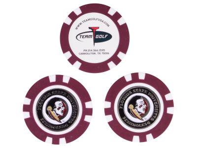 Florida State Seminoles Golf Poker Chip Markers 3 Pack