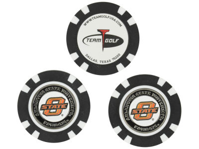 Oklahoma State Cowboys Golf Poker Chip Markers 3 Pack