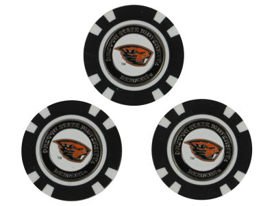 Oregon State Beavers Golf Poker Chip Markers 3 Pack