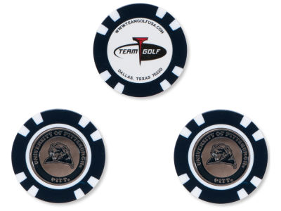 Pittsburgh Panthers Golf Poker Chip Markers 3 Pack