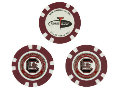 South Carolina Gamecocks Golf Poker Chip Markers 3 Pack