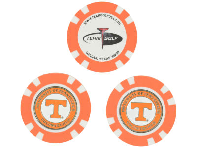 Tennessee Volunteers Golf Poker Chip Markers 3 Pack