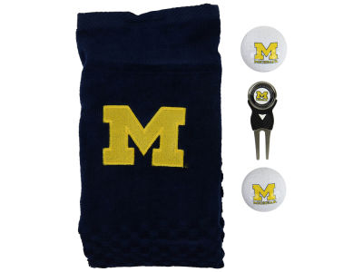 Michigan Wolverines Golf Towel Gift Set
