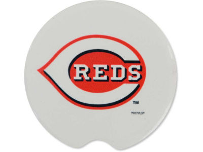 Cincinnati Reds 2 Pack Car Coasters