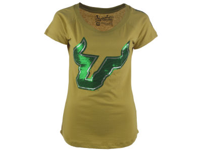 South Florida Bulls NCAA Women's Harper Crew T-Shirt