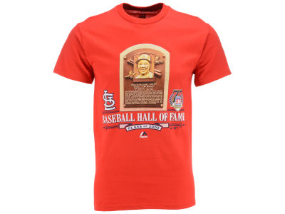 St. Louis Cardinals MLB Men's Hall of Fame Plaque T-Shirt