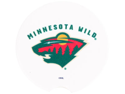 Minnesota Wild 2 Pack Car Coasters