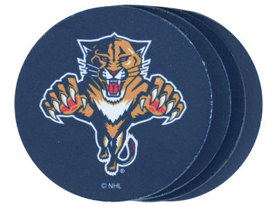 Florida Panthers 4-pack Neoprene Coaster Set