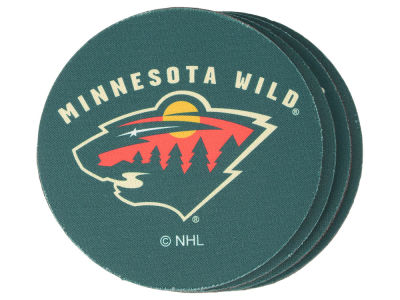 Minnesota Wild 4-pack Neoprene Coaster Set