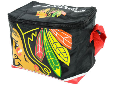 Chicago Blackhawks 6-pack Lunch Cooler Big Logo