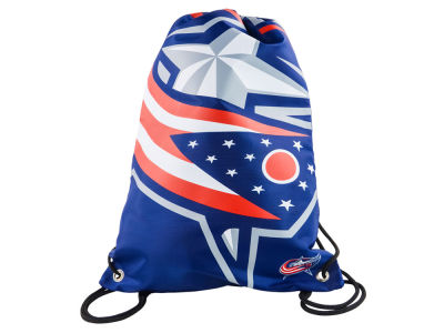 Columbus Blue Jackets Big Logo Drawstring Backpack