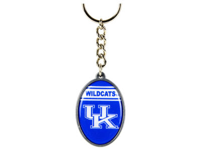 Kentucky Wildcats Pewter Oval Keychain