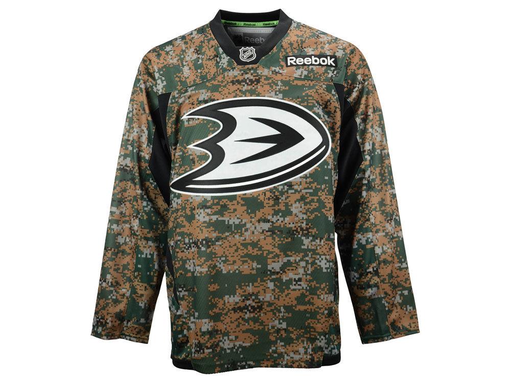 Anaheim Ducks Reebok NHL Camo Jersey  0e6046a4190