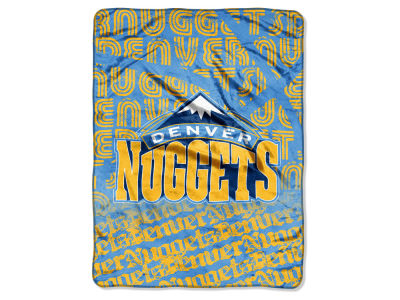 "Denver Nuggets Micro Raschel Throw 46x60 ""Redux"""