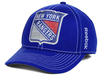 New York Rangers Reebok NHL 2014 Season Spin Flex Cap