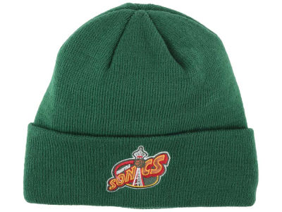 Seattle SuperSonics adidas NBA 2014 Team Cuff Knit