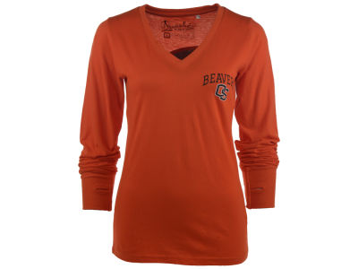 Oregon State Beavers NCAA Women's Arial Long Sleeve T-Shirt