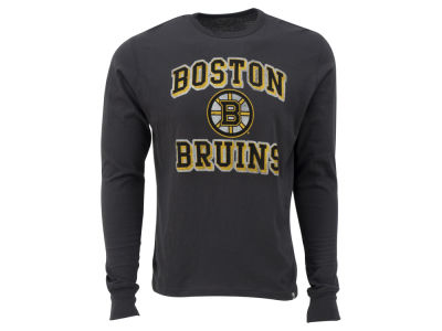 Boston Bruins NHL Men's Flanker Long Sleeve T-Shirt