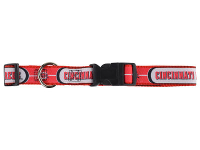 Cincinnati Reds Dog Collar