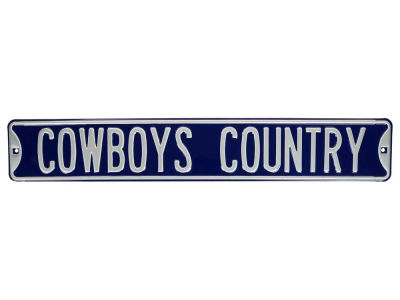 Dallas Cowboys Team Street Sign
