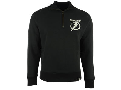 Tampa Bay Lightning NHL Men's Cross Check 1/4 Zip Pullover Shirt