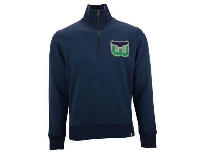 Hartford Whalers NHL Men's Cross Check 1/4 Zip Pullover Shirt