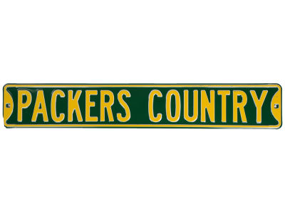 Green Bay Packers Team Street Sign
