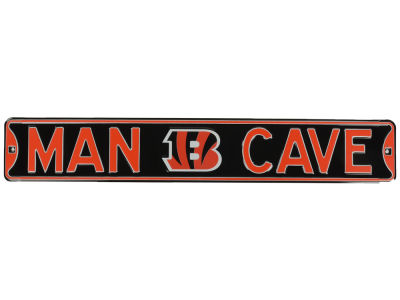 Cincinnati Bengals Authentic Street Sign Man Cave