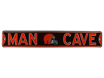 Cleveland Browns Authentic Street Sign Man Cave