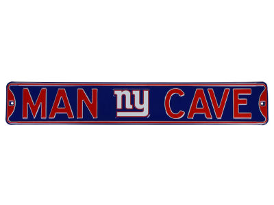 New York Giants NFL Man Cave Street Sign