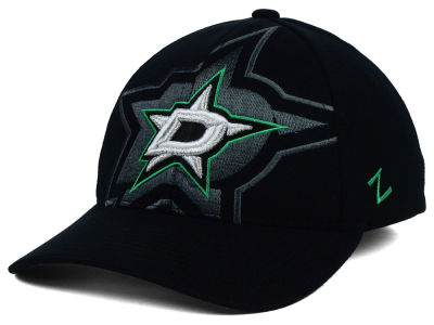 Dallas Stars Zephyr NHL Black Covert Flex Cap