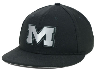 Ole Miss Rebels Nike NCAA True Platinum Swooshflex Hat