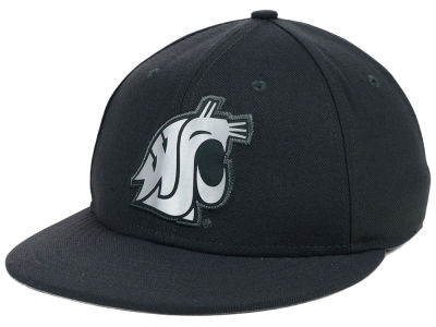 Washington State Cougars Nike NCAA True Platinum Swooshflex Hat