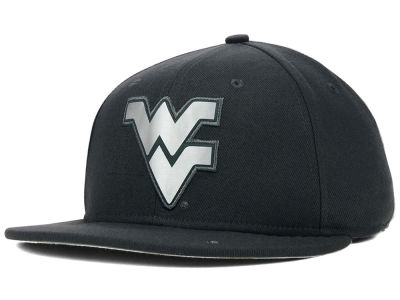 West Virginia Mountaineers Nike NCAA True Platinum Swooshflex Hat