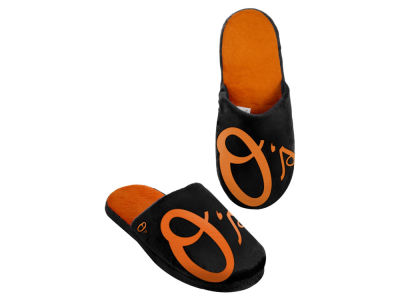 Baltimore Orioles Big Logo Slippers