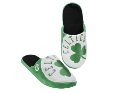 Boston Celtics Big Logo Slippers