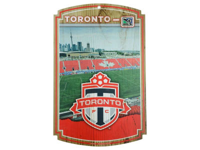 Toronto FC 11x17 Wood Sign