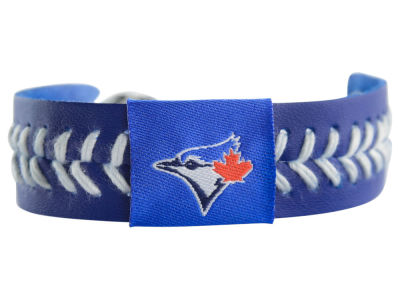 Toronto Blue Jays Team Color Baseball Bracelet
