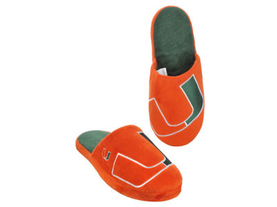 Miami Hurricanes Big Logo Slippers