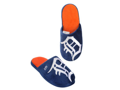 Detroit Tigers Big Logo Slippers