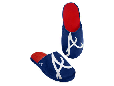 Atlanta Braves Big Logo Slippers