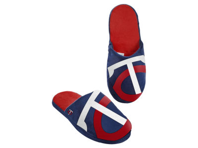 Minnesota Twins Big Logo Slippers