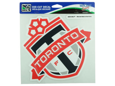 Toronto FC Die Cut Color Decal 8in X 8in