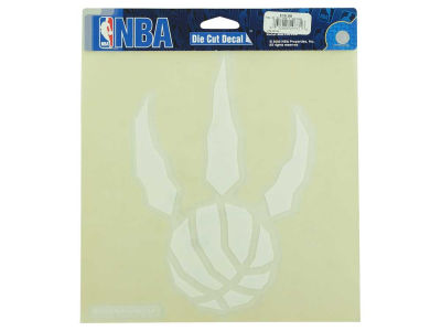 "Toronto Raptors Die Cut Decal 8""x8"""