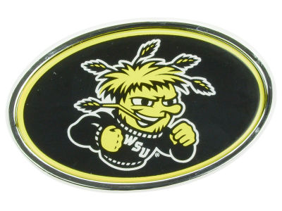 Wichita State Shockers Metal Auto Emblem