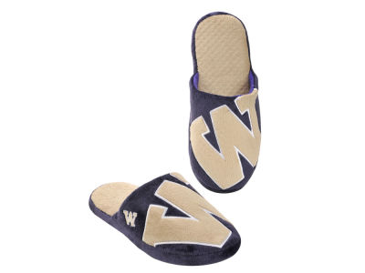 Washington Huskies Big Logo Slippers